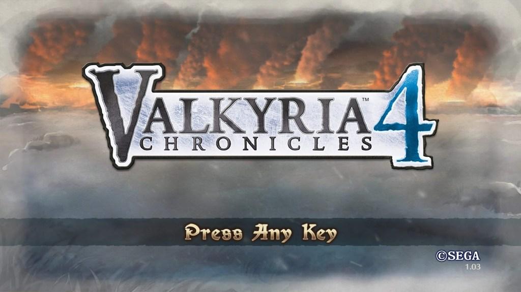 PS4 – 戦場のヴァルキュリア4 その1 (体験版) 序章 ノーザンクロス作戦発動「ミルト遭遇戦」