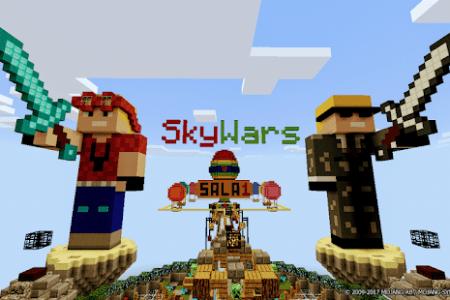 Minecraft Spielen Deutsch Minecraft Skywars Spiele Bild - Minecraft skywars spiele