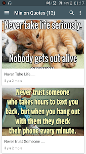Minion Quotes   Apps on Google Play Screenshot Image