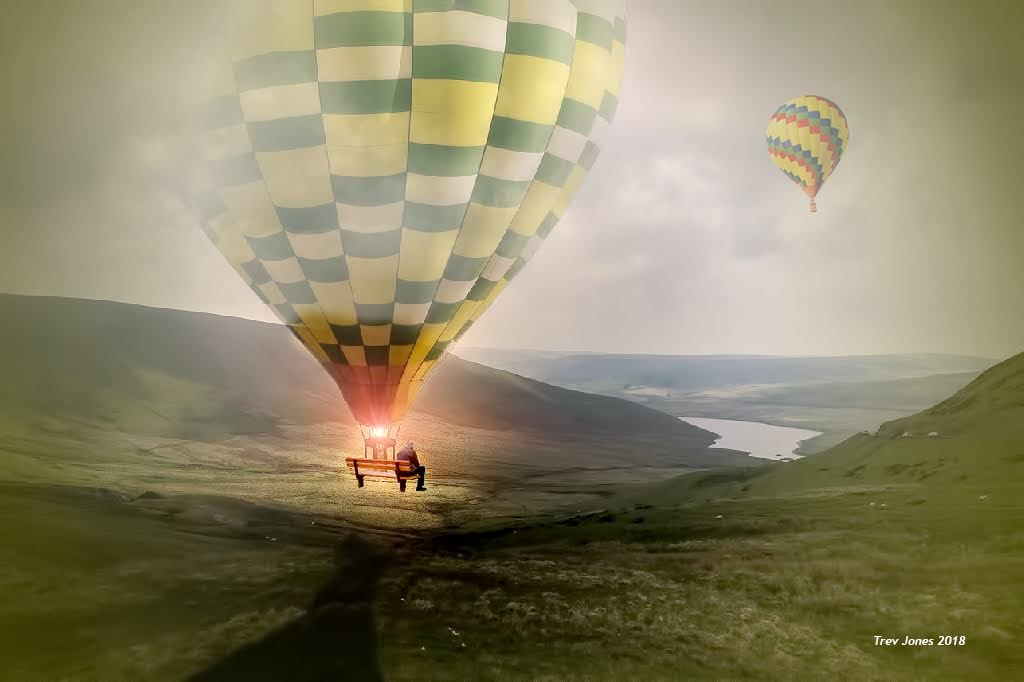 Fly Away In A Hot Air Balloon