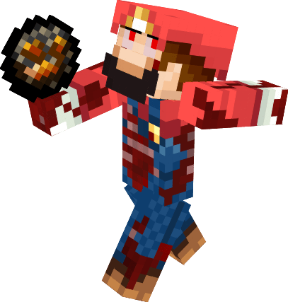 Zombie Mario Nova Skin