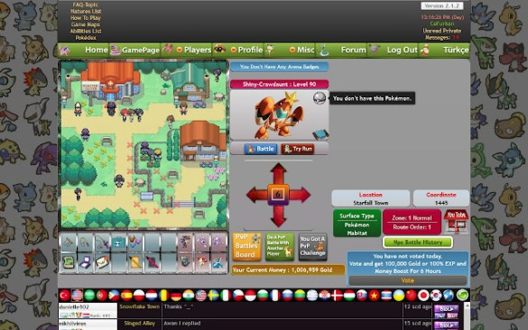 Pokemon Online Free MMO RPG Game   Fan Made   Chrome Web Store PokemonPets fan made Pokemon online MMO RPG free game  Advanced Pokedex   all Pokemon  battle  capture  train  Live PvP  market  chat