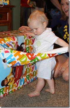 Hayden's first birthday 107