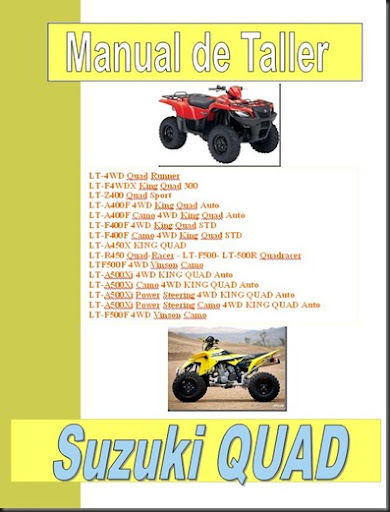 02manual taller suzuki lt quad