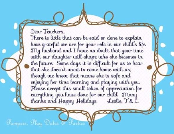 Teacher-Letter