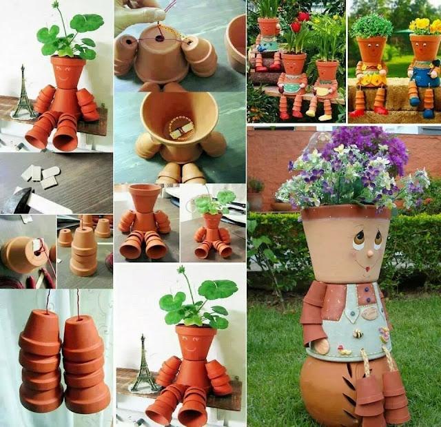 recycler vos pots de fleurs