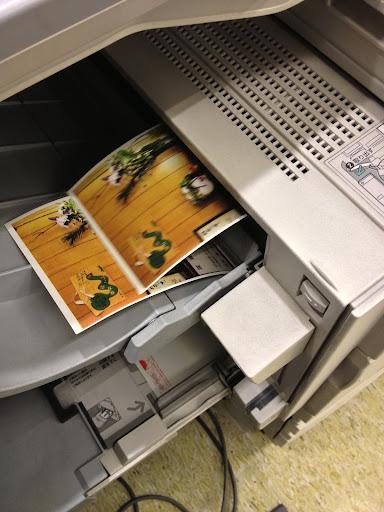 コンビニで好きな画像データを年賀状(はがき)に印刷する方法!■セブンイレブン■◆マルチコピー機◆