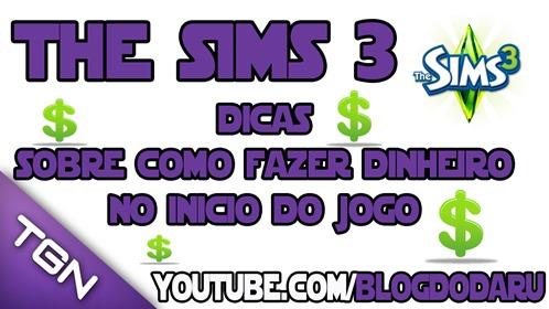 The Sims 3: Dicas sobre como fazer dinheiro no inicio do jogo