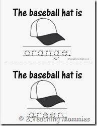 Baseball ColorBook1
