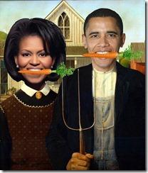 American Gothic - Obama
