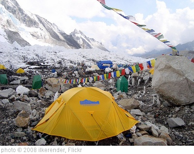 'Everest Base Camp Tent' photo (c) 2008, ilkerender - license: http://creativecommons.org/licenses/by/2.0/