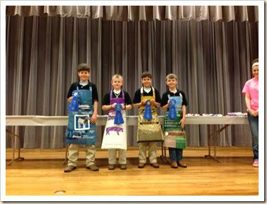 jr food challenge ribbons