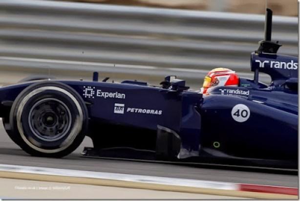 2014 F1 Pre Season Test 2 - Day 4Bahrain International Circuit, Bahrain.Saturday 22 February 2014.Felipe Nasr, Williams FW36 Mercedes.World Copyright: Andrew Ferraro/Williams F1.ref: Digital Image _Q0C2184