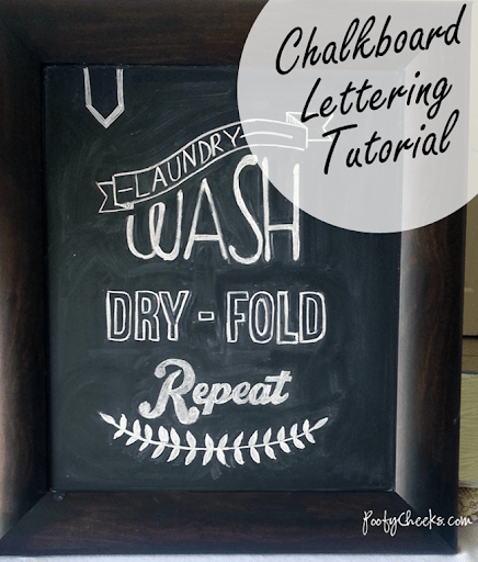 Chalkboard Designs Part - 33: Chalkboard Lettering And Design Tutorial - For Those Who Are Not Great At  Hand Lettering!