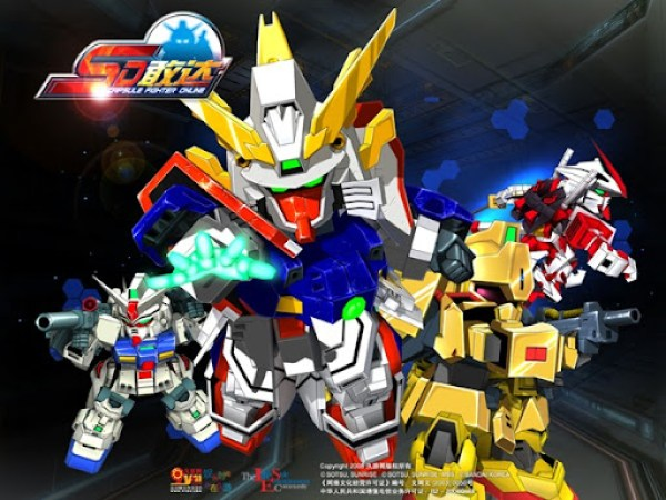 SD Gundam Capsule Fighter Online 1