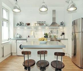 Cocinas de diseño lamparas techo