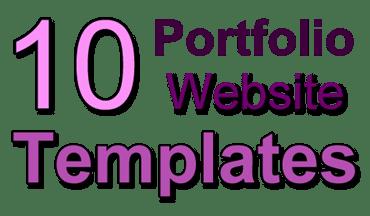 portfolio templates to build a website with wix artpromotivate
