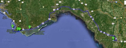 map forgotten coast