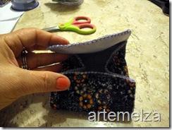 artemelza - bolsa de feltro duplo-16