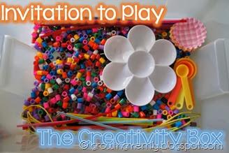 Invitiation to Play: The Creativity Box