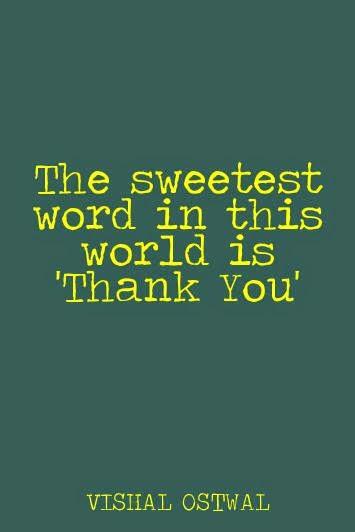 vishal ostwal thank you quote