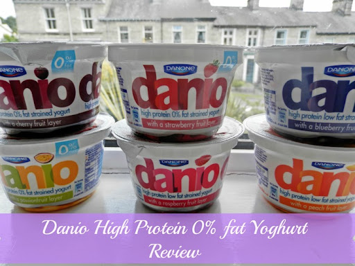Danio high protein 0 fat strained yoghurt review