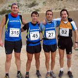 1 Prueba de liga de Carreras por montaña- Crevillente (7-Febrero-2010)