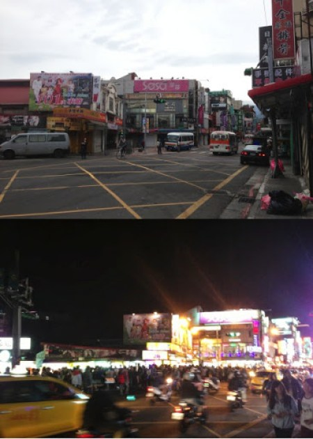 Shilin Day vs Night