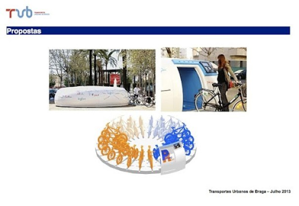 Tubiclas estacionamento bicicleta
