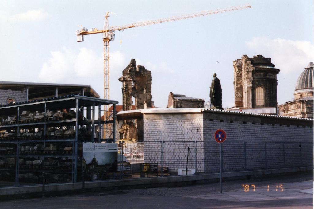 Реставрация церкви Фрауенкирхе