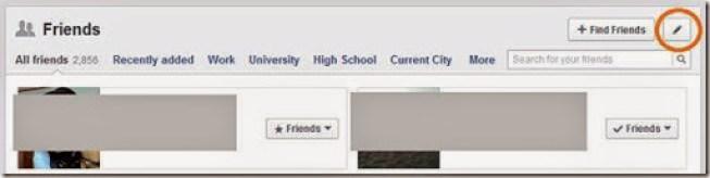 daftar teman facebook aman tersembunyi