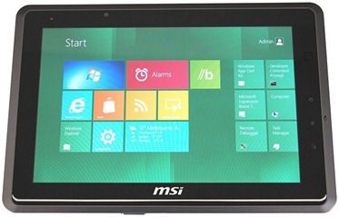 Image tablet MSI 10S