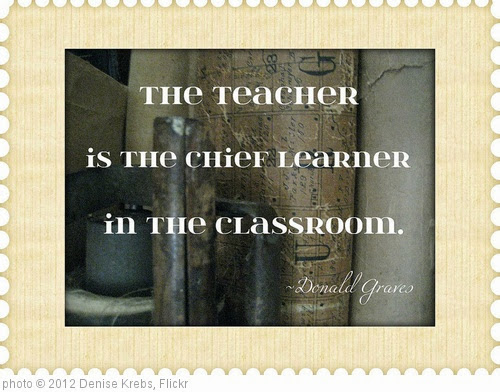 '2012-171 Teacher is Chief Learner' photo (c) 2012, Denise Krebs - license: https://creativecommons.org/licenses/by/2.0/