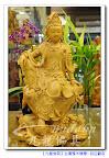 【雕刻美學自在觀音】開心隨和觀自在~台灣檜木精雕優雅自在菩薩@台北板橋九龍佛具
