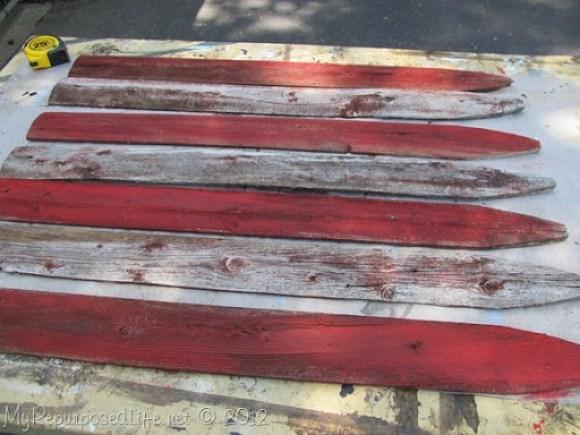 Americana Flag (Repurposed Fence) (9)