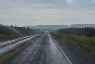 some hard rain along the way this morning
