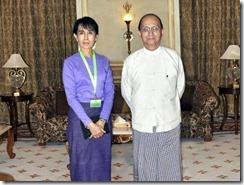 Aung San Suu Kyi Thein Sein
