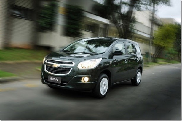 Spin - Stylish Compact MPV Desired for Urban Motorist[3]