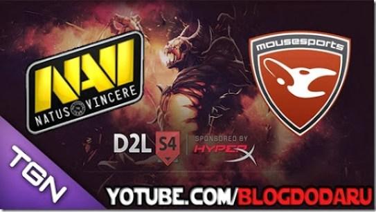 Navi x Mousesports - D2L - Dota 2