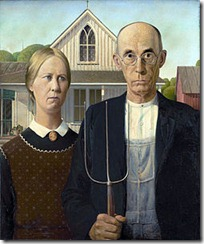 American Gothic- Grant Wood