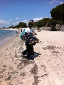 海岸の商人たち