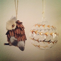 Got a little bit over excited yesterday and bought two Christmas decorations.... #christmas #gettingexcitedfartooearly