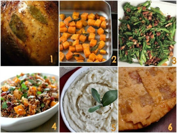 Thanksgiving Recipes Collage_2