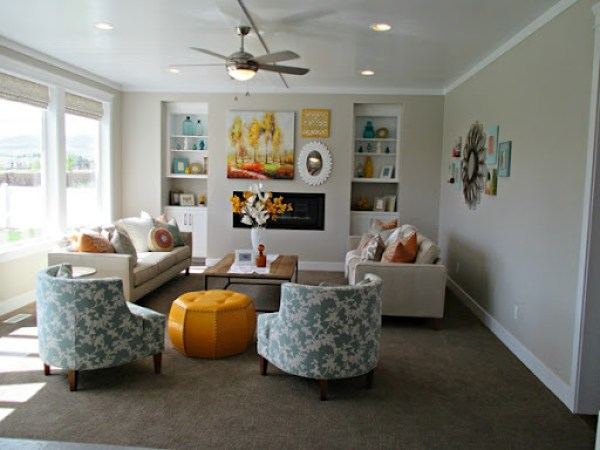 Agreeable Gray - family room paint color