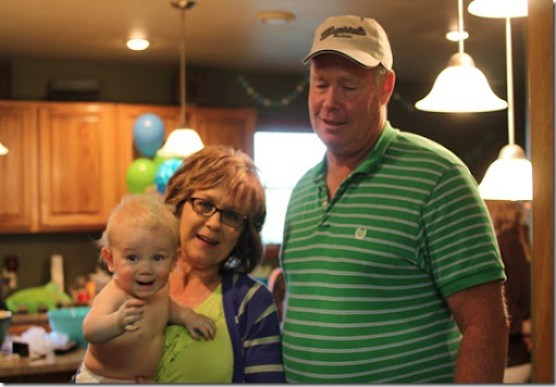 Hayden's first birthday 179