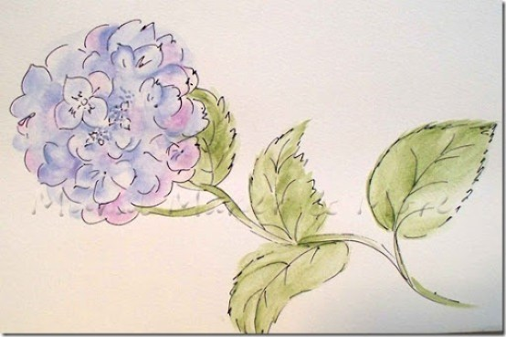 watercolor-like-hydrangea-a