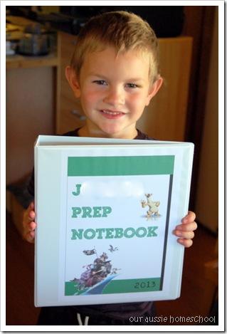 New Notebooks ~ Our Aussie Homeschool