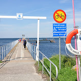 A pier designed for handicapped people