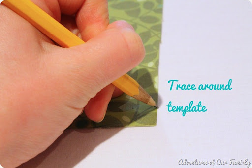diy quiet book template tracing