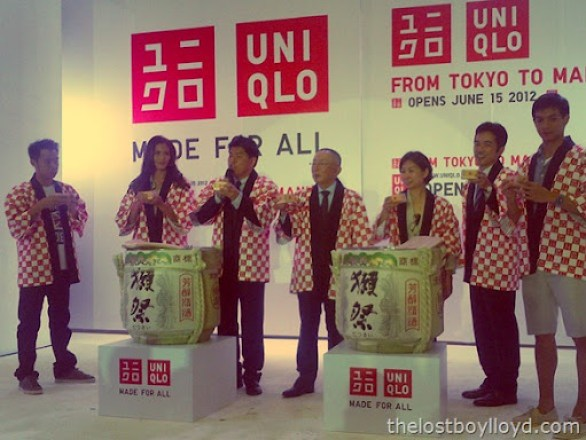 uniqlo cast sake